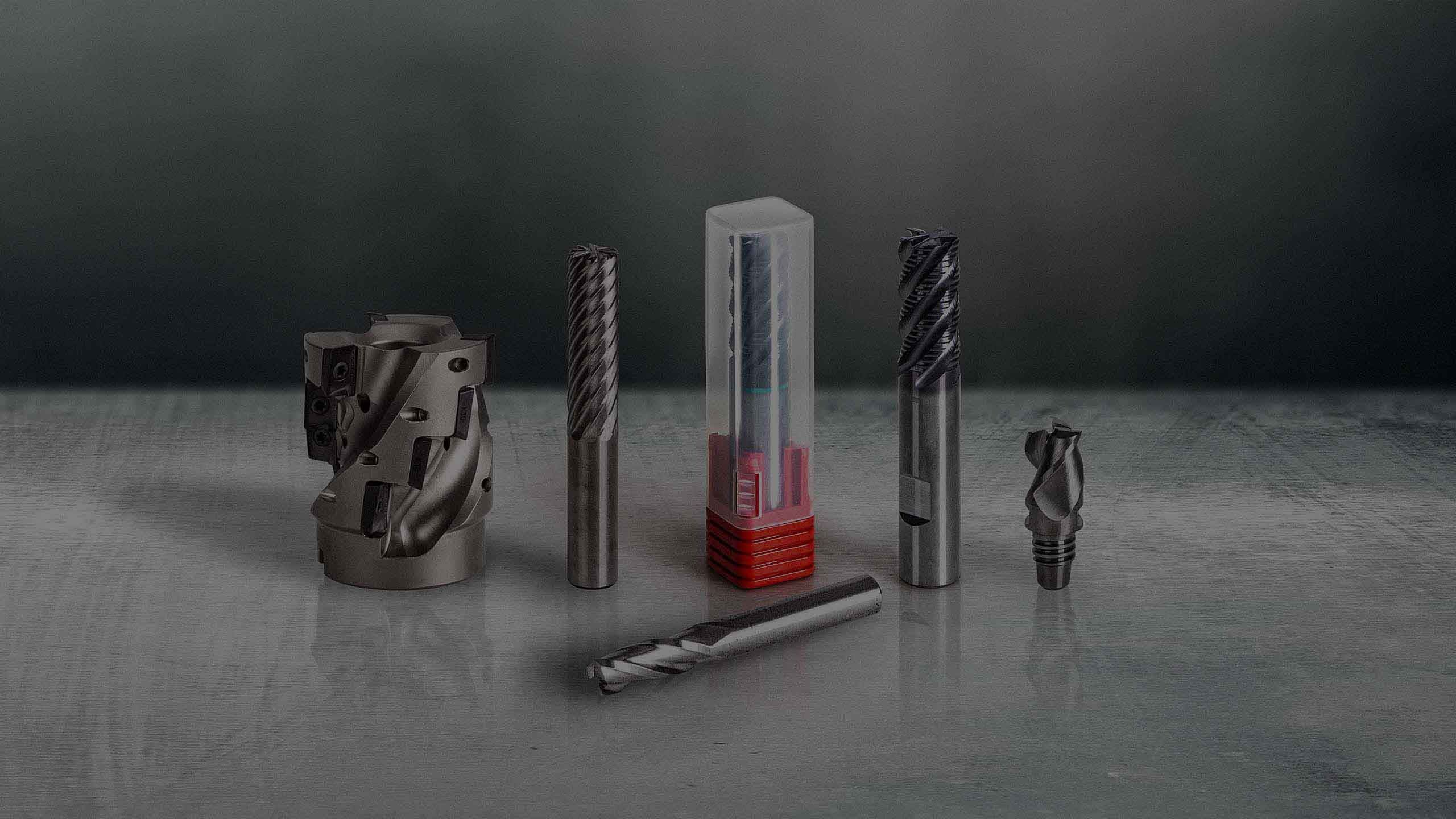 Plastic packaging solutions for milling tools.