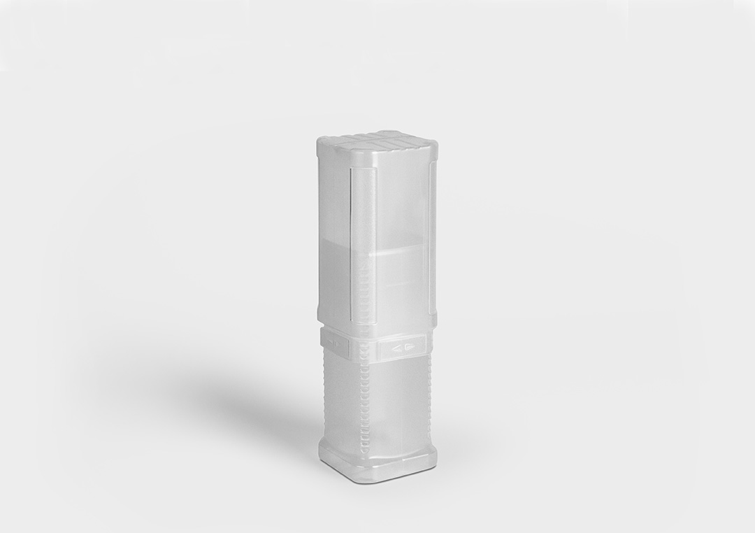 Plastic packaging tube BlockPack